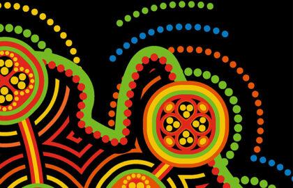 Artwork from Coles Aboriginial and Torres Strait Islander booklet